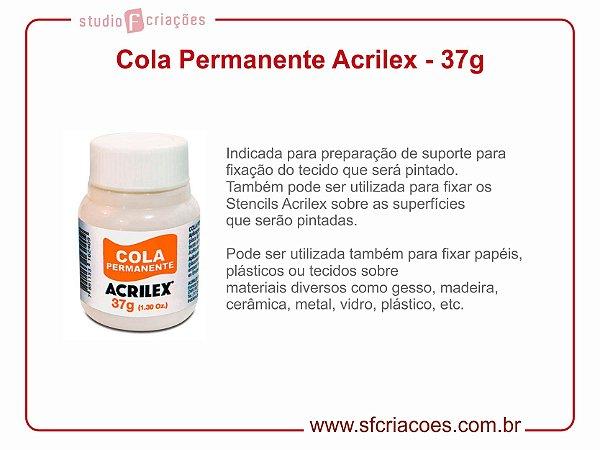 Cola Permanente Acrilex - 37 gramas