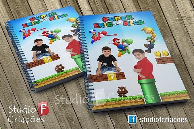 Caderno Universirário Capa Dura 96 fls (Personalizado)