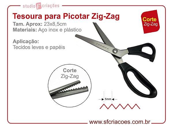 Tesoura de Picotar - Zig-Zag 5mm