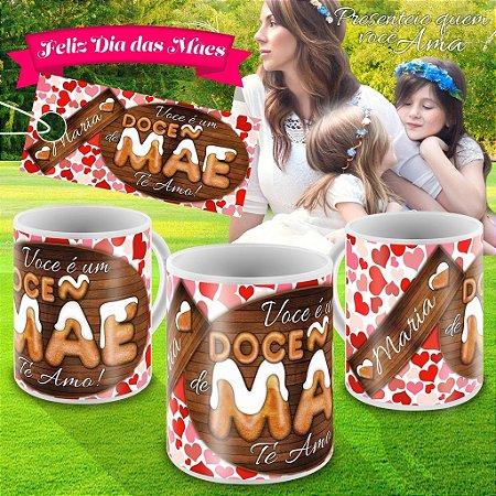 Caneca dia das Maes - modelo 011