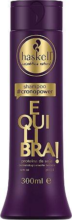 Shampoo Equilibra CronoPawer 300ml - Haskell