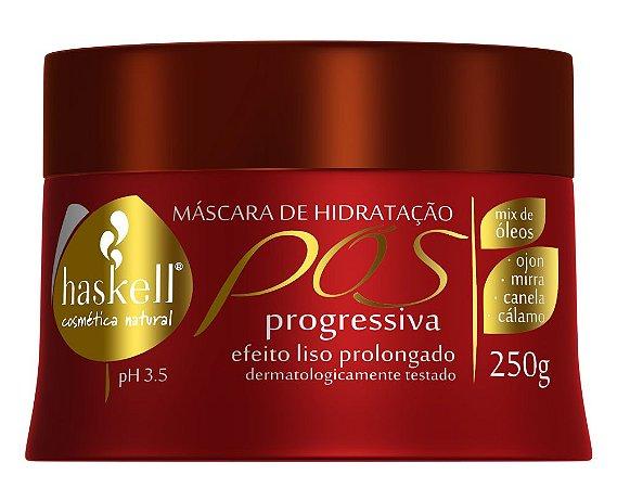 Máscara de Hidratação Pós Progressiva Liso Absoluto 250g Haskell