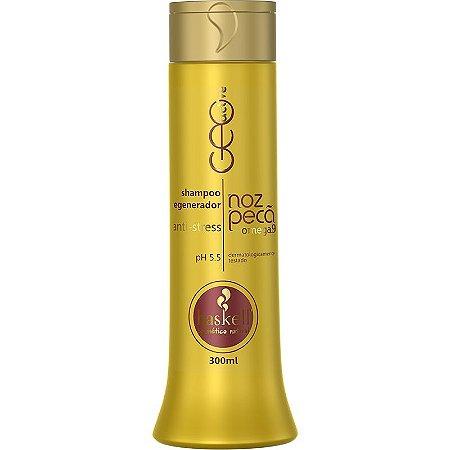 Shampoo Regenerador e Anti Stress Geo Active Noz Pecã 300ml  - Haskell