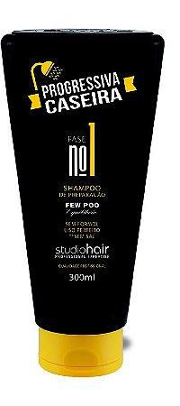 Shampoo de Reparação Progressiva Caseira 300ml - Muriel