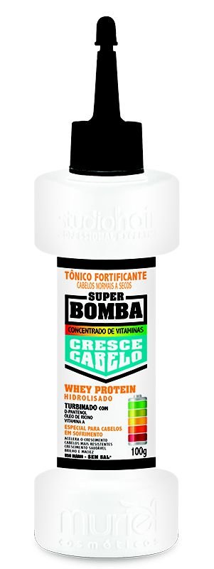 Tônico Fortificante Cresce Cabelo Whey Protein 100g-Muriel