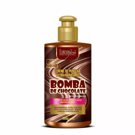 Creme de Pentear Bomba de Chocolate 300g - Forever Liss