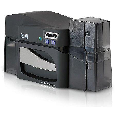 Impressora/Codificadora de Cartões de Identificação DTC4500e Single Side