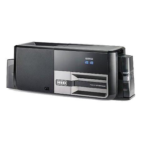 Laminadora e impressora de cartões de identificação FARGO DTC5500LMX