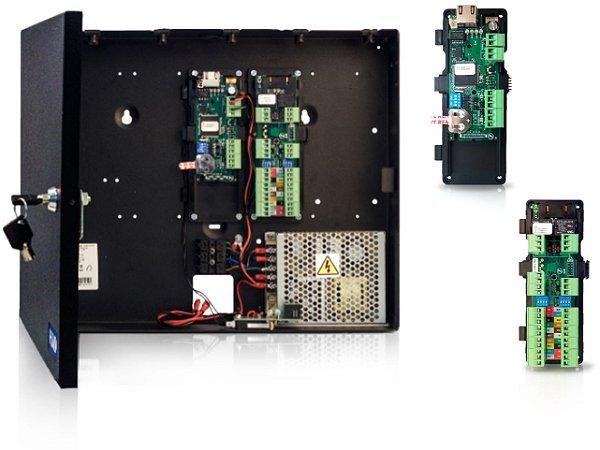Controladora HID AC Series (1 AC + 1 AW2) - kit composto por 1 controladora + 1 módulo Wiegand