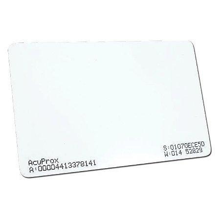 Cartão de Proximidade Datax de 125Khz (Padrão Acura Acuprox) - ISO (Cento)