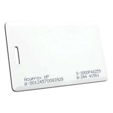 Cartão de Proximidade AcuProx Card HP (Cento)