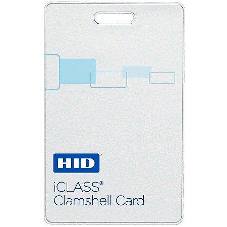 Cartão de Proximidade HID iCLASS 2080 - Clamshell (Cento)