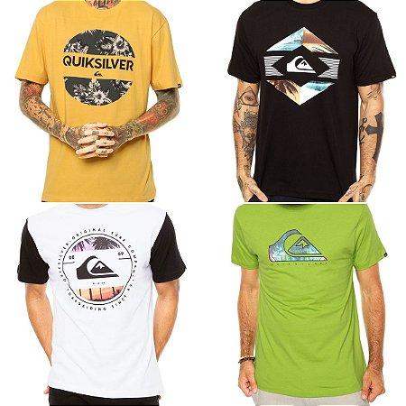 Camisetas Quiksilver Masculinas no Atacado - Lotes de 03 a 50 peças 0eaf888a938