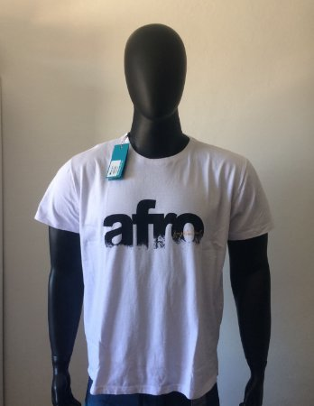 Camiseta Osklen Afro Masculina - Branca - Atacado 06 peças - Último Lote 8400b795ea6a2