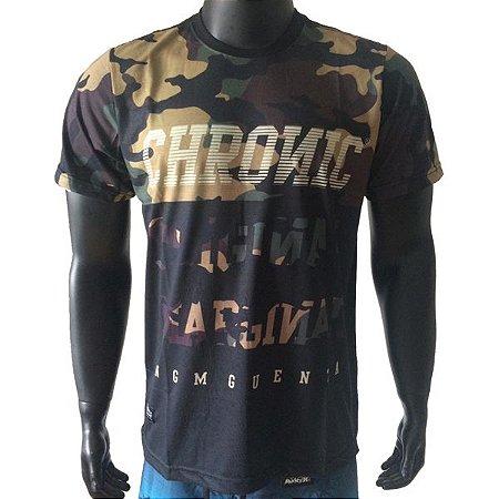 Camiseta Chronic Camuflada - Ninguém Guenta