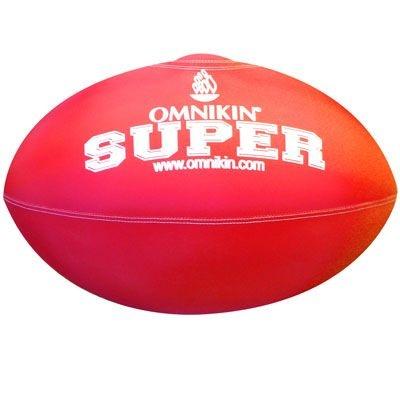 Bola SUPER rugby / futebol americano VERMELHA