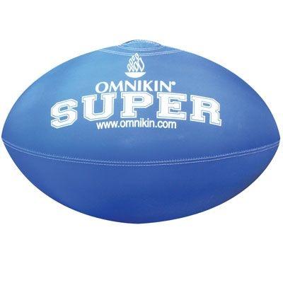 Bola SUPER rugby / futebol americano AZUL
