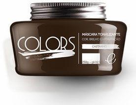 Portier Colors Matizador Hidratante Castanho 250gr Fine Cosméticos