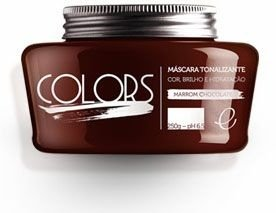 Portier Colors Matizador Hidratante Marrom Chocolate 250gr Fine Cosméticos
