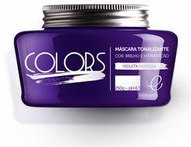Portier Colors Matizador Hidratante Violeta Fantasia 250gr Fine Cosméticos
