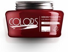 Portier Colors Matizador Hidratante Vermelho Mogno 250gr Fine Cosméticos