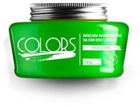 Portier Colors Matizador Hidratante Verde Louro 250gr Fine Cosméticos