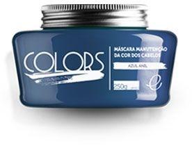 Portier Colors Matizador Hidratante Azul Anil 250gr Fine Cosméticos