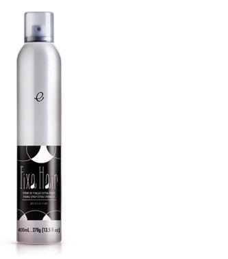 Portier Fixa Hair Spray de Fixação Extra Forte 400ml Fine Cosméticos