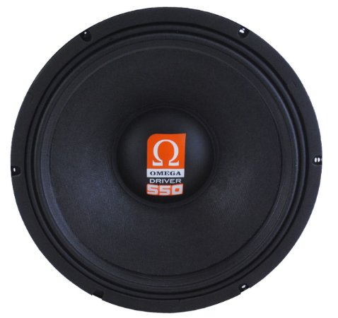 Woofer Omega Driver 550 12 Pol 550 Watts RMS