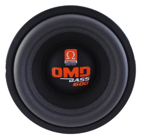 Subwoofer Omega Driver OMD BASS 600 10 Pol 600 Watts RMS