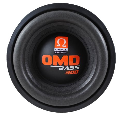 Subwoofer Omega Driver OMD BASS 300 8 Pol 300 Watts RMS