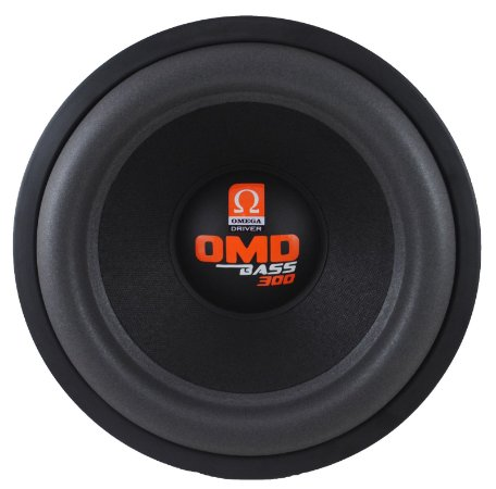 Subwoofer Omega Driver OMD BASS 300 12 Pol 300 Watts RMS