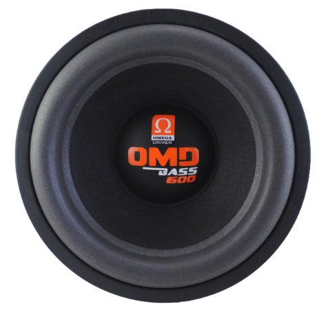 Subwoofer Omega Driver OMD BASS 600 12 Pol 600 Watts RMS