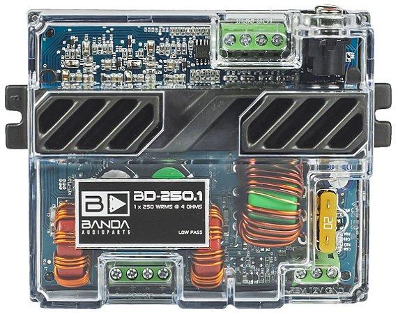 Amplificador Banda Audioparts POCKET 250.1 250 Watts RMS