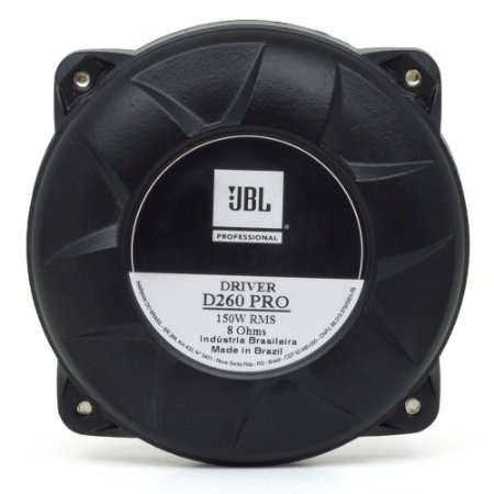 Driver Fenólica JBL D260 PRO 150 Watts RMS 8 Ohms