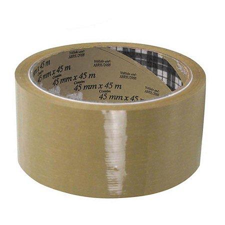 Fita Adesiva de BOPP 3M Tartan 5808 - 45 mm x 45 m - Marrom