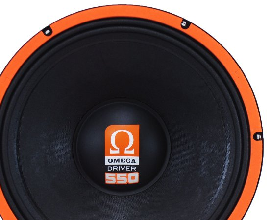 Woofer Omega Driver 550 Especial 12 Pol 550 Watts RMS