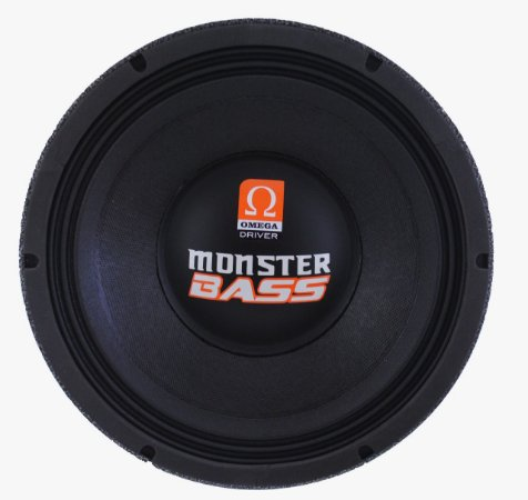Woofer Omega Driver Monster Bass 12 Pol 1000 Watts RMS