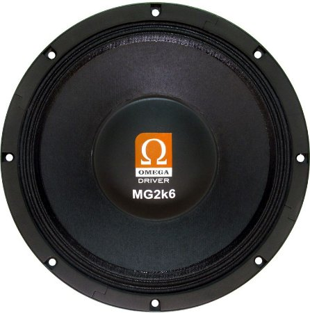 Woofer Omega Driver MG2k6 12 Pol 1300 Watts RMS