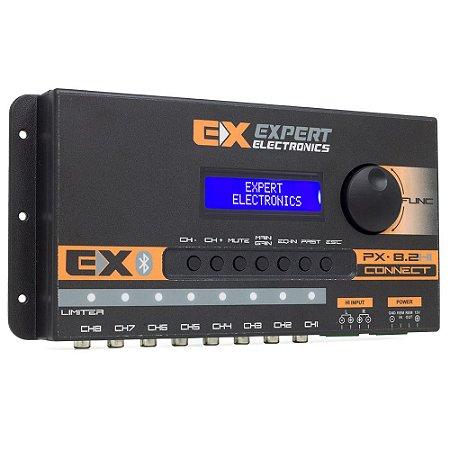 Processador de Audio PX8.2 Hi Connect Expert Electronics - Alta - 8 Vias - Bluetooth