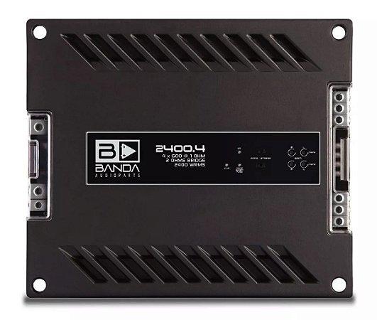Amplificador Banda Audioparts 2400.4 2400 Watts RMS 4 Canais