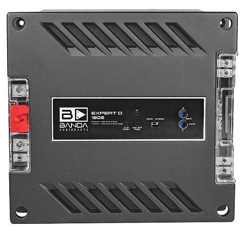 Amplificador Banda Audioparts EXPERT 1200 Watts RMS 2 Canais