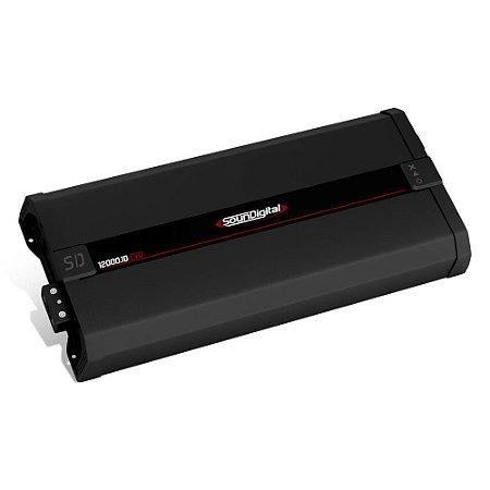 Amplificador SounDigital SD12000 EVO 2.1 15672 Watts RMS