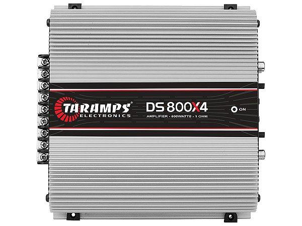 Amplificador Taramps DS800x4 800 Watts RMS 4 Canais