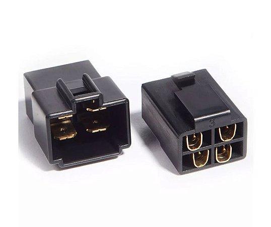 Kit Conector 4 Vias com Trava EV Series Technoise