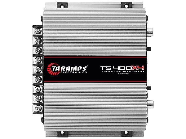 Amplificador Taramps TS-400x4 400 Watts RMS 4 Canais