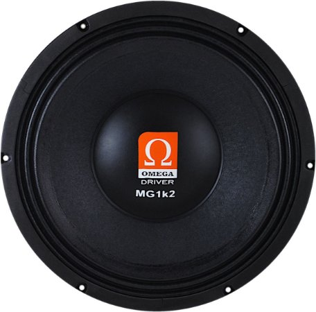 Woofer Omega Driver MG1k2 12 Pol 600 Watts RMS - 8 OHMS