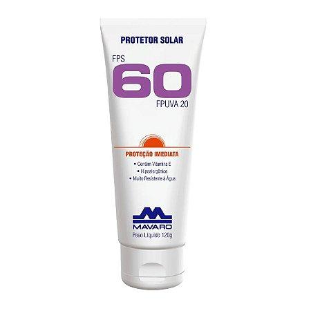 Protetor Solar Fator 60 - 120g