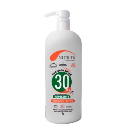 Protetor Solar Fator 30 com Repelente - 1 Litro