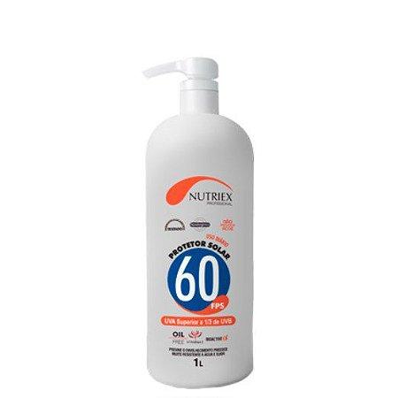 Protetor Solar Fator 60 com Repelente - 1 Litro